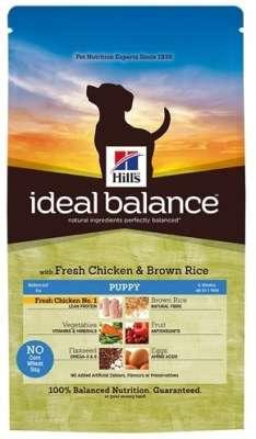 Hill's Ideal Balance Puppy fersk Kylling og brun Ris 2 kg Tamhøns & Ris