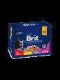 Premium Cat Pouches Family Plate från Brit 12x100 g