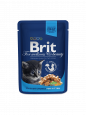 Brit Premium Cat Pouches Chicken Chunks for Kitten 100 g