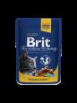 Veel klanten kopen met Brit Premium kattenvoer met kip en kalkoen