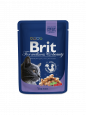Brit Premium Cat Pouches Μπακαλιάρος 100 g