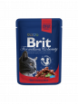 Brit Premium Cat Pouches 100 g