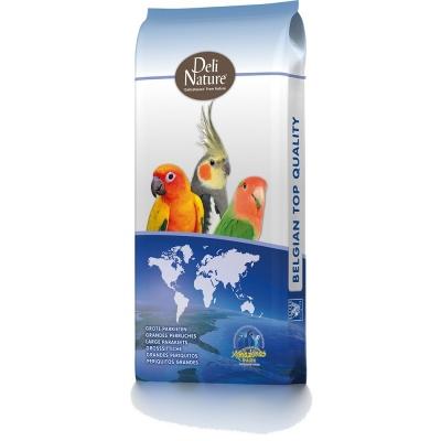 Deli Nature 33 Gross-Sittiche & Papegeien Keimfutter  15 kg