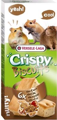 Versele Laga Crispy Biscuit Nagetiere Nüsse 6 Stück  70 g