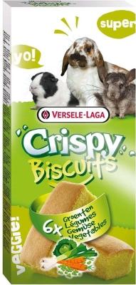 Versele Laga Crispy Biscuit Nagetiere Gemüse  70 g