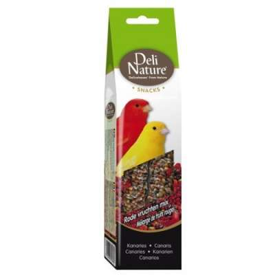 Deli Nature Kanarien Rote Früchte Mix  60 g