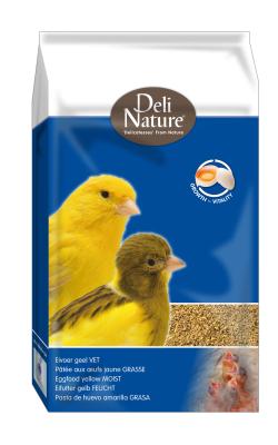 Deli Nature Eifutter Gelb Feucht  10 kg, 1 kg