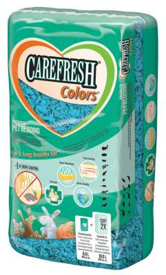 CareFresh Pet Bedding Colors 10L Hellblau