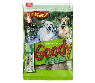 DeliBest Fleisch Goody mit Hirsch Premium Hirsch 100 g