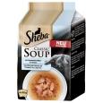 Sheba Classic Soup - Hochseefischfilets & Gemüse 4x40 g