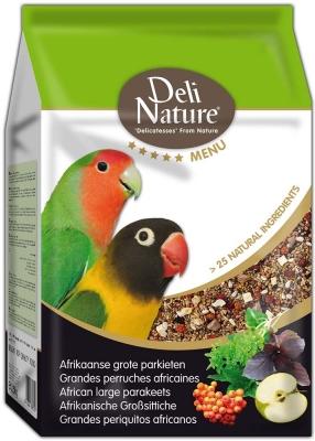 Deli Nature 5 Star menu - Afrikanische Großsittiche  800 g, 2.5 kg