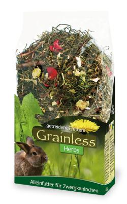 JR Farm Grainless Herbs Zwergkaninchen  950 g, 5 kg, 400 g