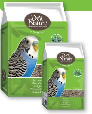 Deli Nature Premium-Pequeños Periquitos  4 kg, 1 kg