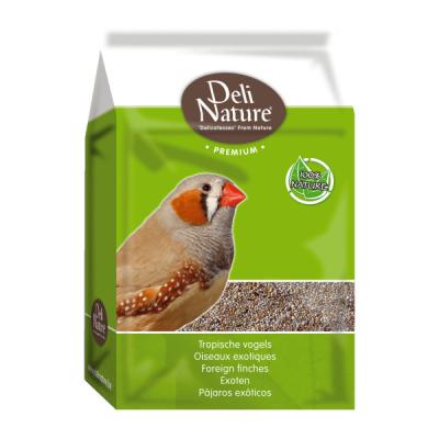 Deli Nature Premium-Pájaros Tropicales  4 kg, 1 kg