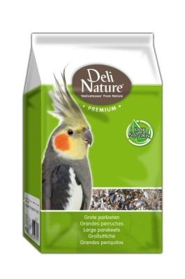 Deli Nature Premium-Grandes Periquitos  4 kg, 1 kg