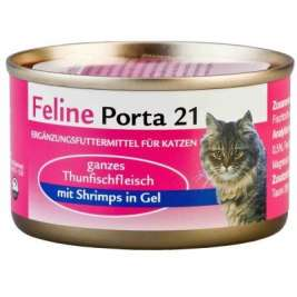 Thunfisch & Shrimps in Gel Feline Porta 21  4021158463505