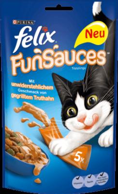 Felix FunSauces mit gegrilltem Truthahn Pute 75 g