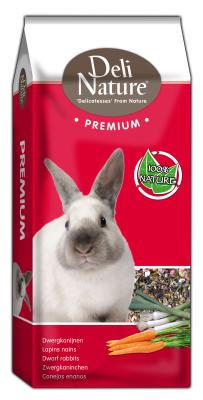 Deli Nature Premium - Zwergkaninchen Junior  15 kg