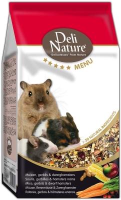 Deli Nature 5 Star menu - Mäuse, Rennmäuse und (zwerg) Hamster  750 g