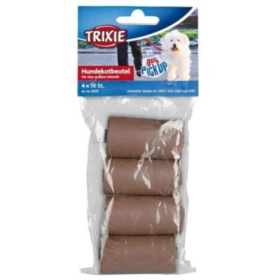 Trixie Hundekotbeutel aus Maisstärke, 4 Rollen à 10 Stück 8