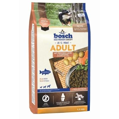 Bosch High Premium Concept - Adult with Fresh Salmon & Potato  15 kg, 3 kg, 1 kg