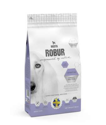 Bozita Robur Sensitive Single Protein Lamb & Rice  950 g, 3 kg, 12.5 kg