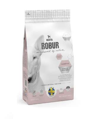 Bozita Robur Sensitive Single Protein Salmon & Rice  950 g, 3 kg, 12.5 kg