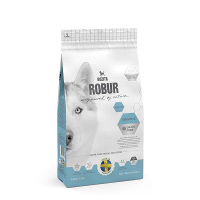 Bozita Robur Sensitive Grain Free Reindeer  11.5 kg, 3.2 kg, 1.25 kg, 3 kg, 950 g
