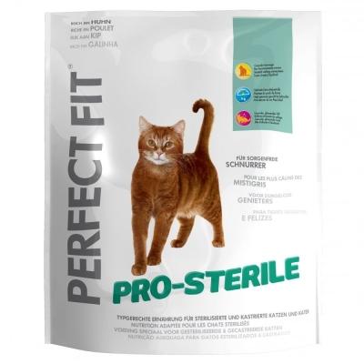 Perfect Fit Kissa Pro-Sterile Runsaasti Kanaa 750 g, 1.4 kg