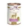 Terra Canis Menu Light, Dziczyzna z Ogórkami, Brzoskwinią i Mniszkiem lekarskim 400 g