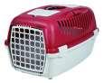 Trixie Capri Transport Box, Light grey/red bestil til gode priser