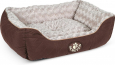 Scruffs Wilton Box Dog Bed Ruskea