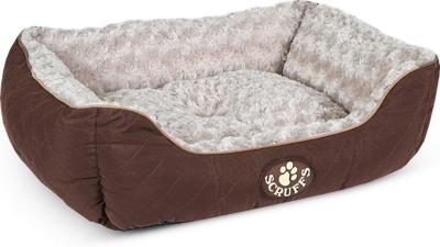 Scruffs Wilton Box Dog Bed Braun S
