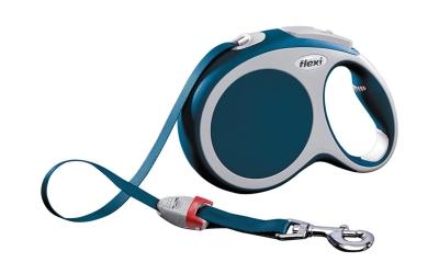 Flexi Vario Tape Leash Blå M/5m