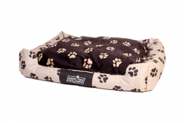 """Oeko-Bed"" Double-Sided Dog Cushion in Plush Pakmas 4251119802269"