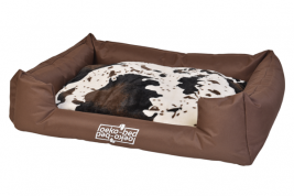 """Oeko-Bed"" Double-Sided Dog Cushion in Plush Pakmas 4251119802238"