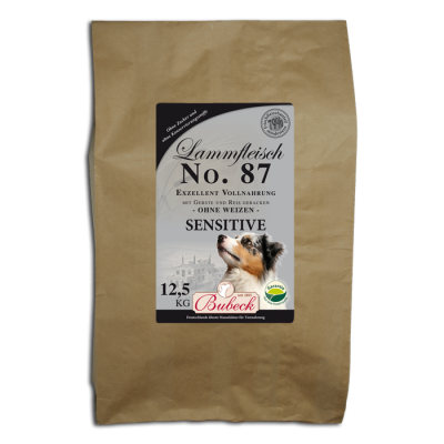 Bubeck No. 87 Sensitive lamb  12.5 kg