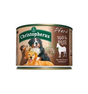 Christopherus Fleischmahlzeit - 100% Pur Horse Can  200 g, 400 g