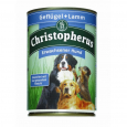 Christopherus Adult Dog – Poultry & Lamb Can 400 g - Hundemat med lam