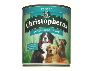 Christopherus Adult Dog – Pure Rumen Can  400 g, 800 g