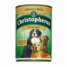 Adult Dog Diet – Lamb & Rice Can Christopherus 4005784076032