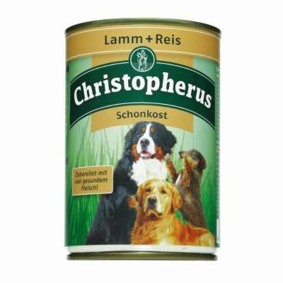 Christopherus Adult Dog Diet – Lamb & Rice Can  800 g, 400 g