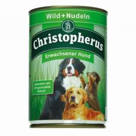 Adult Dog – Game Meat + Pasta Can Christopherus 4005784076056