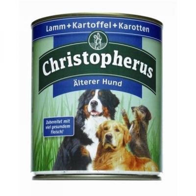 Christopherus Älterer Hund – Lamm, Kartoffel & Karotten Dose  800 g, 400 g