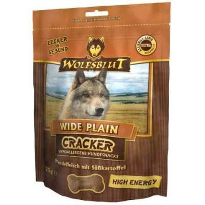 Wolfsblut Cracker Wide Plain High Energy 225 g Cheval & Patate douce