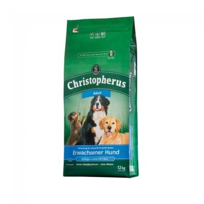 Christopherus Adult Dog - Poultry, Lamb, Eggs & Rice  1.5 kg, 12 kg, 4 kg