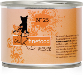 No.25 Chicken & Tuna Catz Finefood 4260101762375