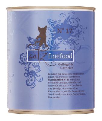 Catz Finefood No.17 Geflügel & Garnele 85 g, 800 g, 400 g, 200 g