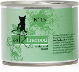 No.15 Chicken & Pheasant Catz Finefood 4260101762221