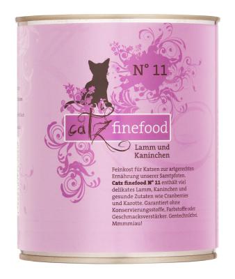 Catz Finefood No.11 Lamm & Kaninchen 85 g, 800 g, 400 g, 200 g